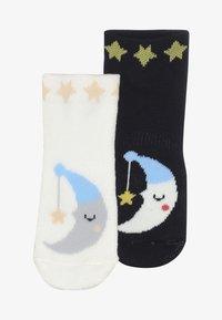 Falke - BABY SLEEP WELL 2 PACK - Ponožky - marine/offwhite - 3