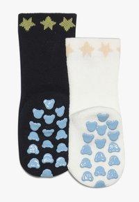 Falke - BABY SLEEP WELL 2 PACK - Ponožky - marine/offwhite - 1