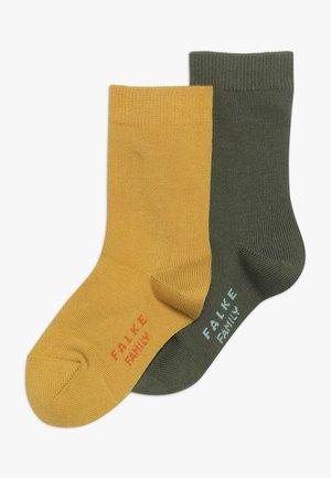 FAMILY 2 PACK - Socks - lemonade/cypress