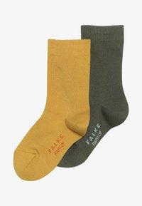Falke - FAMILY 2 PACK - Ponožky - lemonade/cypress - 2