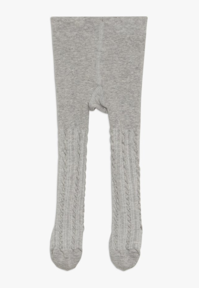CABLE BABY - Tights - stormy grey