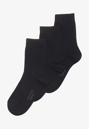 FAMILYBUNDLE 3 PACK - Ponožky - darkmarine