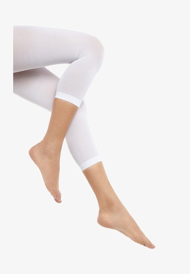 Leggings - Stockings - white