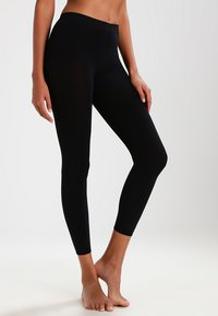 Falke - PURE MATT 100 LEGGINGS - Legging - black - 0