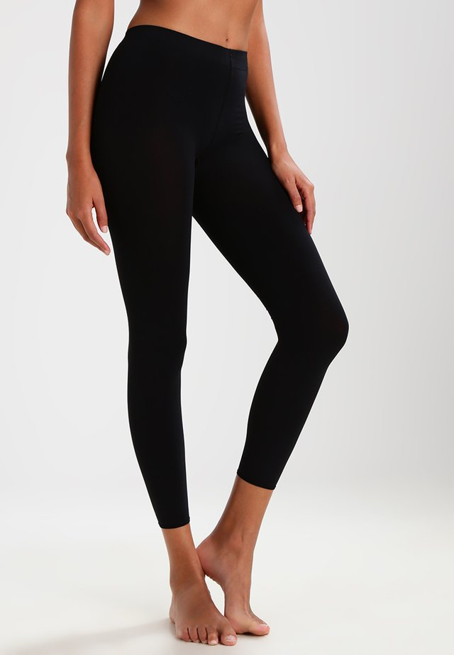 PURE MATT 100 LEGGINGS - Leggings - black