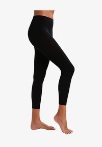 Falke - PURE MATT 100 LEGGINGS - Leggings - Stockings - black - 2