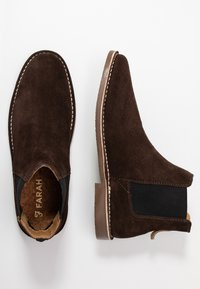 Farah - DOBROMIR - Classic ankle boots - chocolate - 1