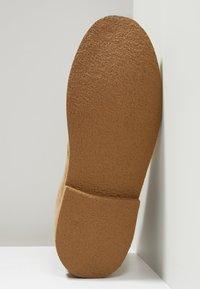 Farah - LOZZA - Volnočasové šněrovací boty - almond - 4
