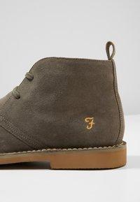 Farah - LOZZA - Volnočasové šněrovací boty - grey - 5