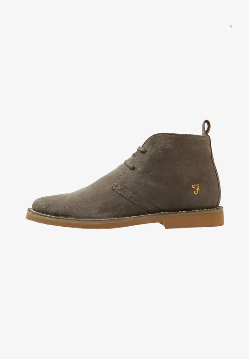Farah - LOZZA - Volnočasové šněrovací boty - grey