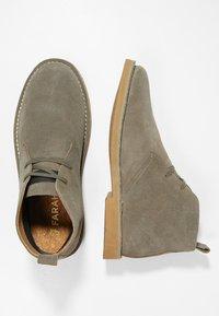 Farah - LOZZA - Volnočasové šněrovací boty - grey - 1