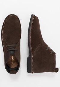 Farah - LOZZA - Volnočasové šněrovací boty - brown - 1
