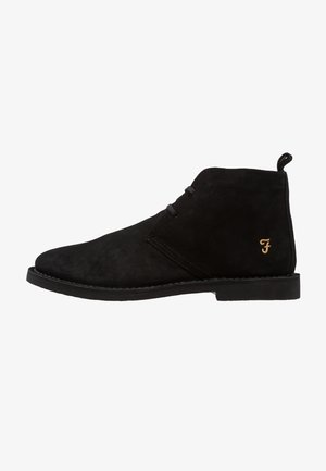 LOZZA - Volnočasové šněrovací boty - black