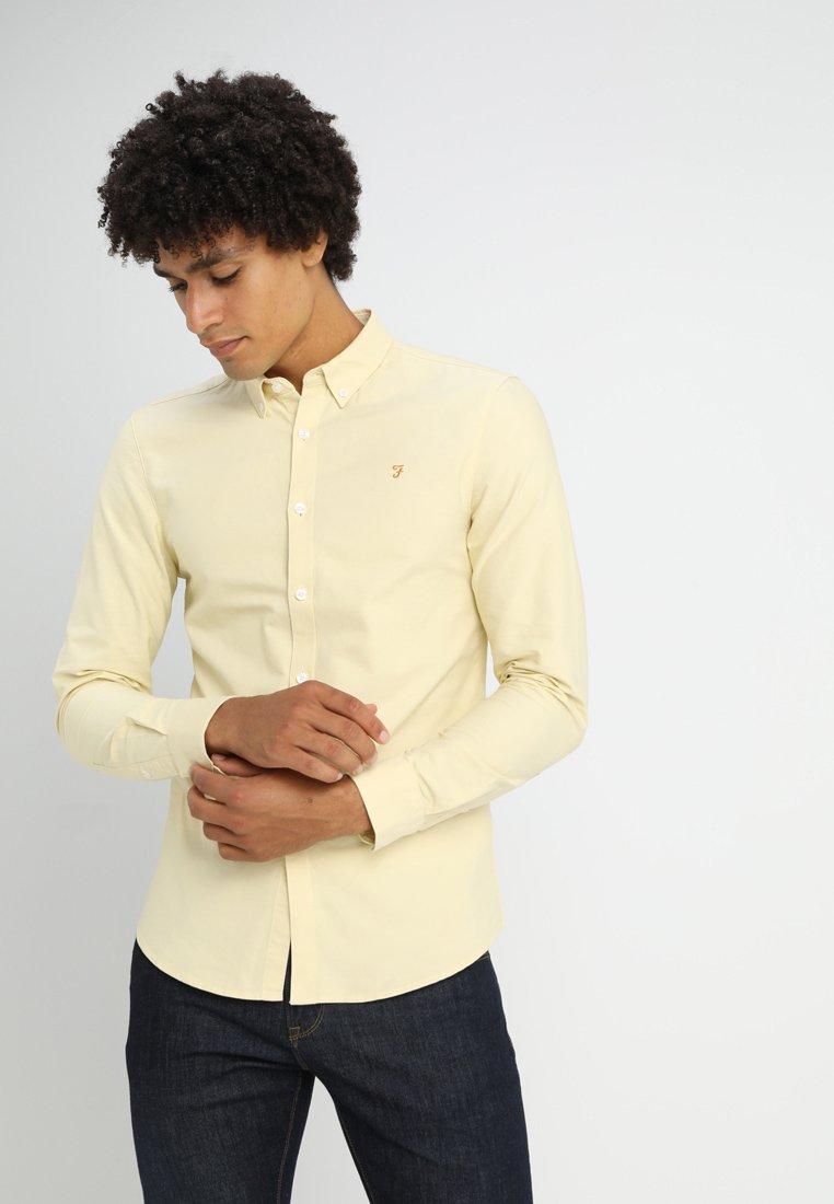 Farah - BREWER - Shirt - lemonade