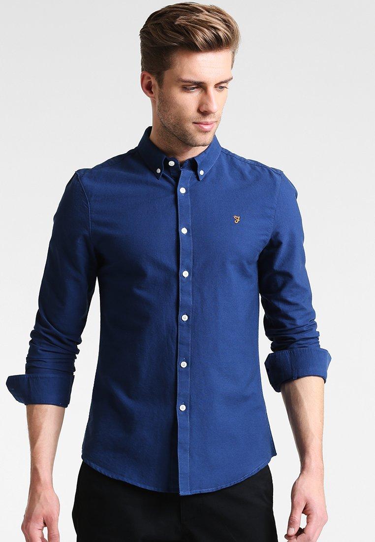 Farah - BREWER - Shirt - regatta blue
