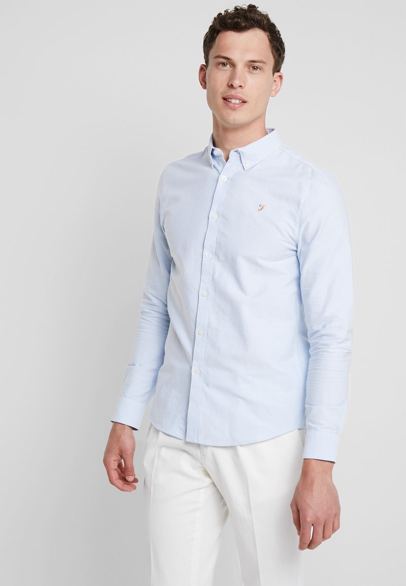 Farah - BREWER - Shirt - sky blue