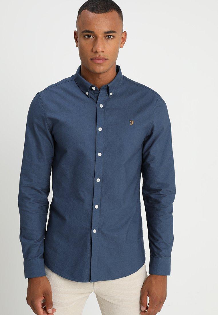 Farah - BREWER - Shirt - bobby blue