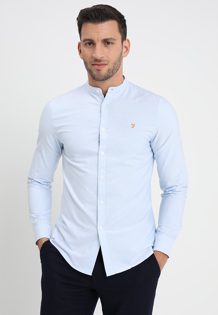 Farah - BREWER GRANDAD - Shirt - blue