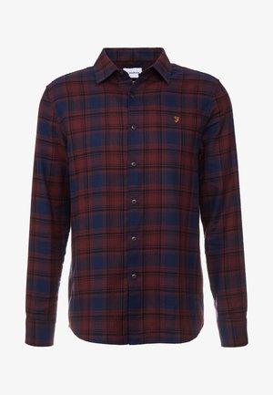 EADER SLIM  - Skjorta - red marl