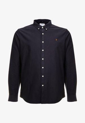 BIG AND TALL BREWER SLIM  - Shirt - navy