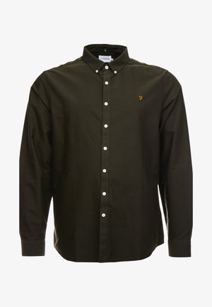 BIG AND TALL BREWER SLIM  - Shirt - evergreen