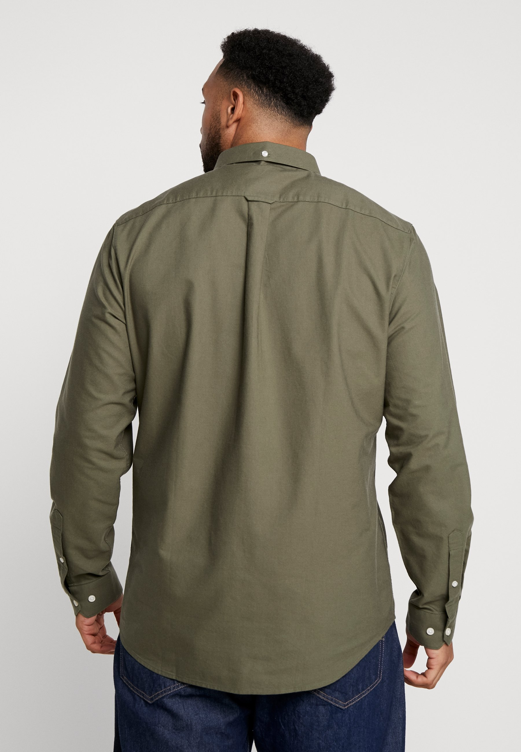 Brewer Big Military Farah Green And Tall SlimChemise cAjLq5RS34