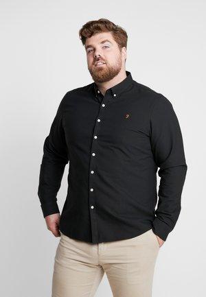 BIG AND TALL BREWER SLIM  - Skjorter - black