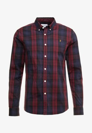 NEW BREWER CHECK - Camisa - red