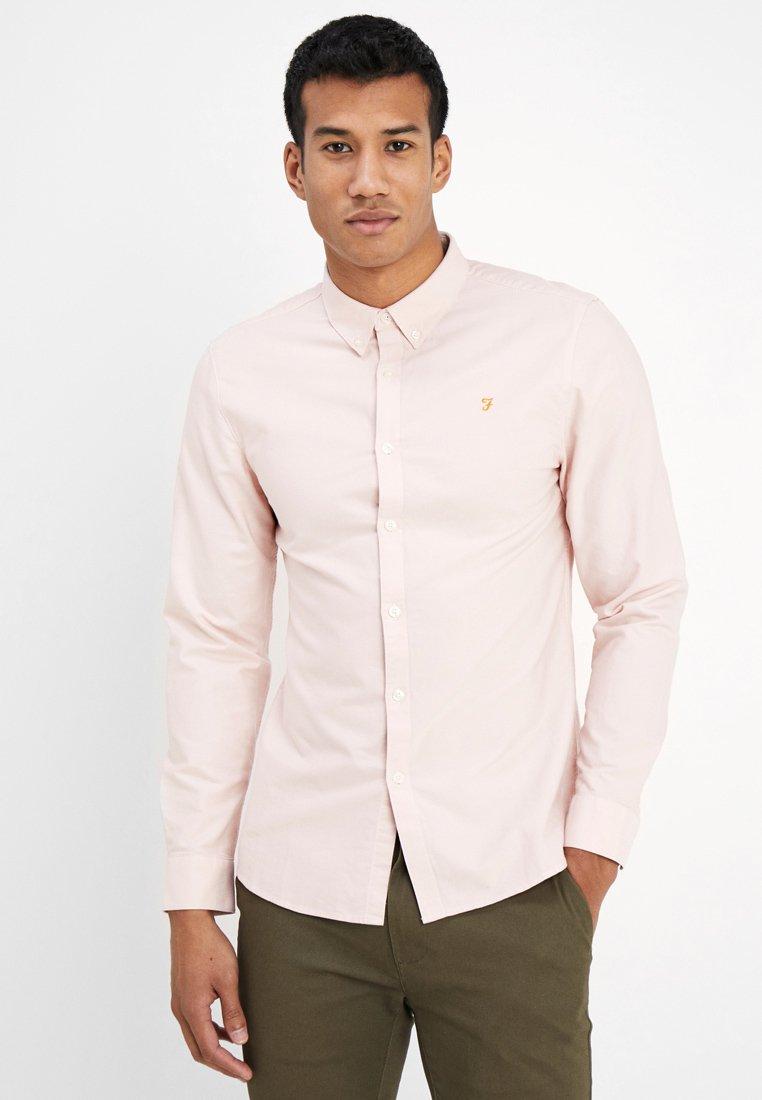 Farah - BREWER SLIM FIT - Hemd - pink