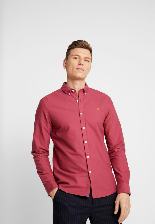 BREWER SLIM FIT - Shirt - azalea
