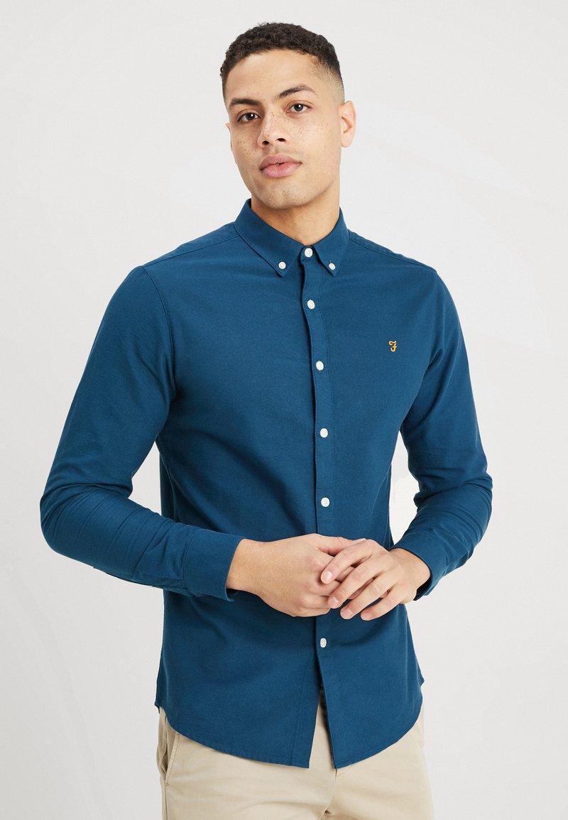 Farah - BREWER SLIM FIT - Shirt - blue star