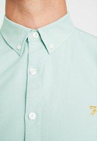 Farah - BREWER SLIM FIT - Overhemd - green mist - 5
