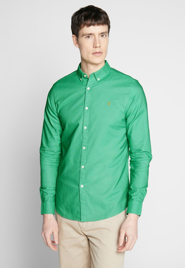 BREWER SLIM FIT - Skjorta - jade green