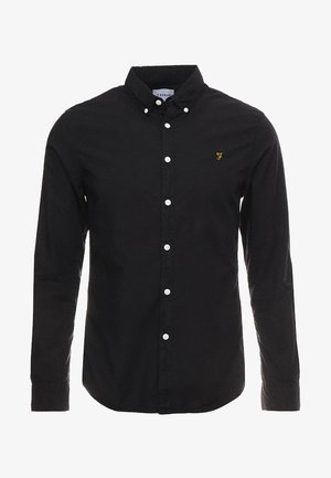 FARLEY SLIM - Shirt - deep black