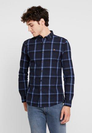 STEEN CHECK - Shirt - true navy