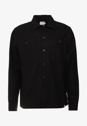 BLACKMORE CHECK - Camisa - dark red
