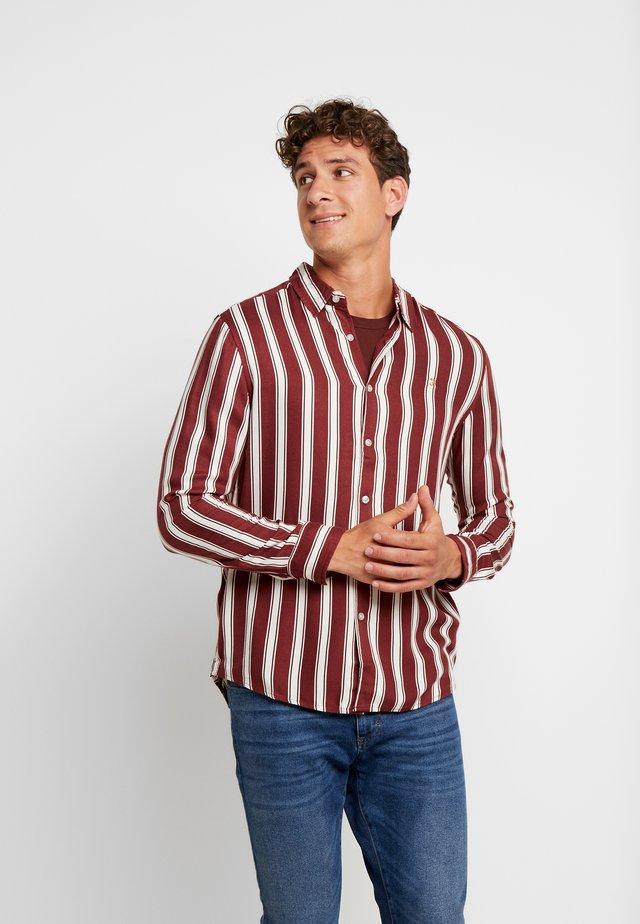 EVISON  - Skjorta - burnt red