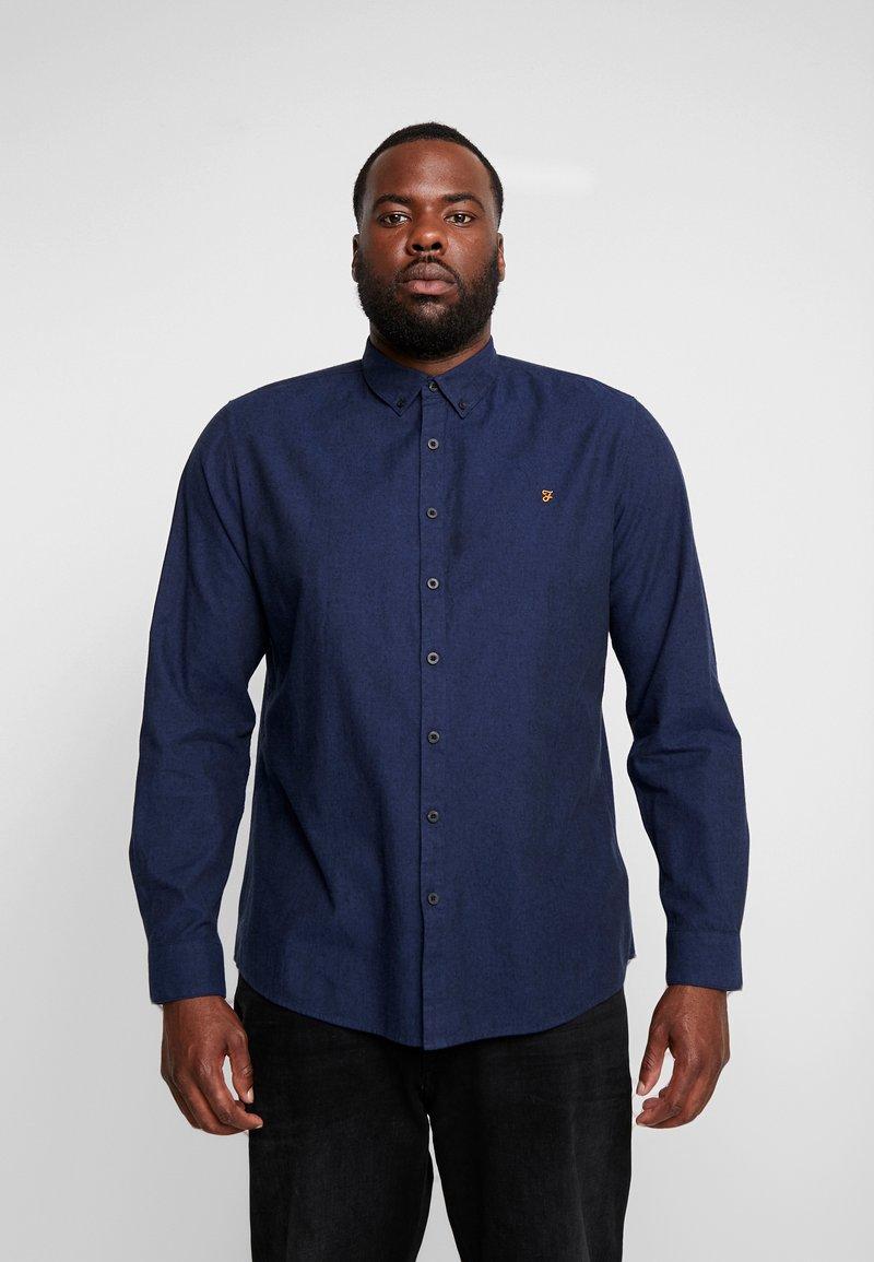 Farah - PLUS STEEN - Shirt - true blue