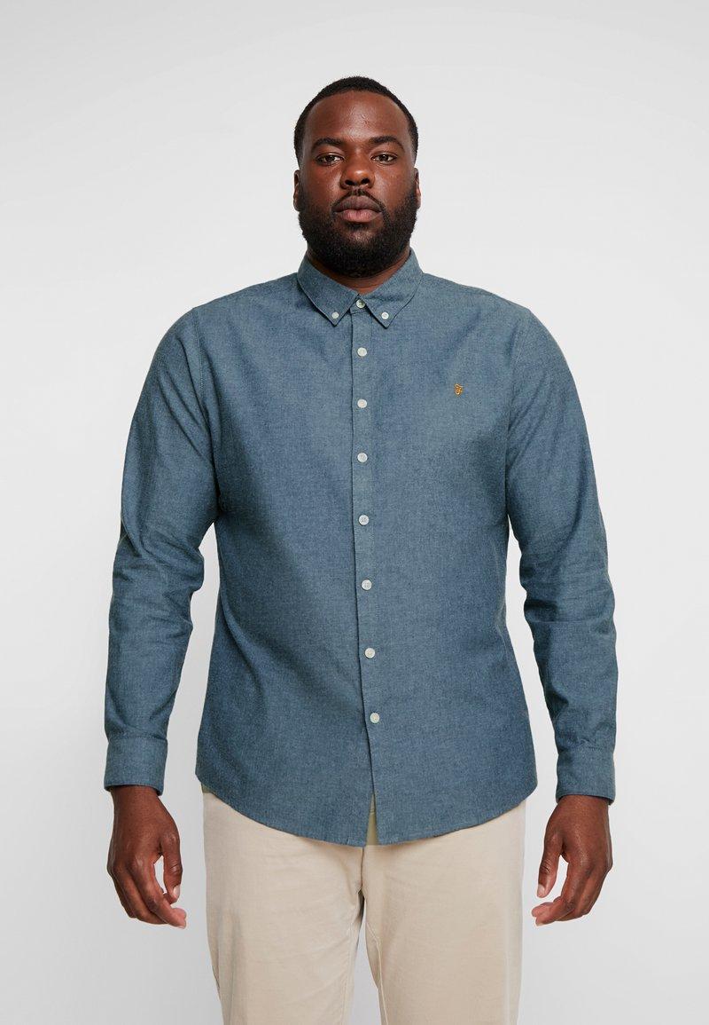 Farah - PLUS STEEN - Shirt - bluebell