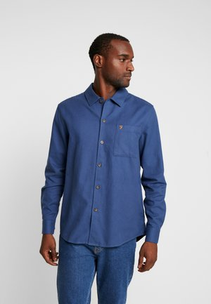 LINDNER BRUSHED SHIRT - Shirt - cold metal