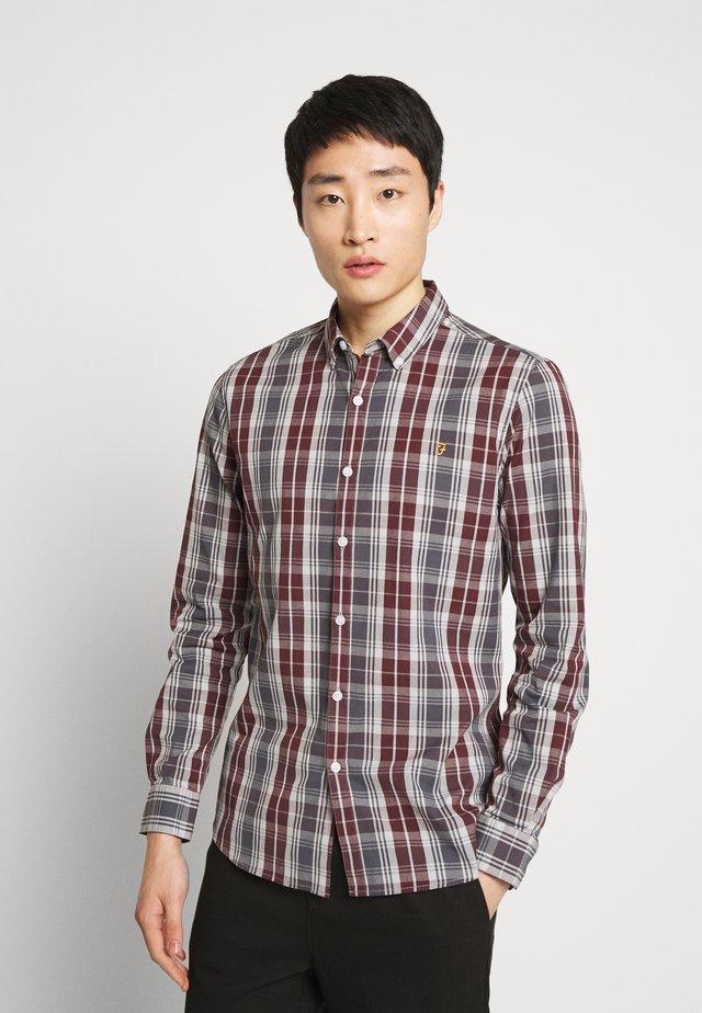 BREWER TARTAN - Shirt - grey