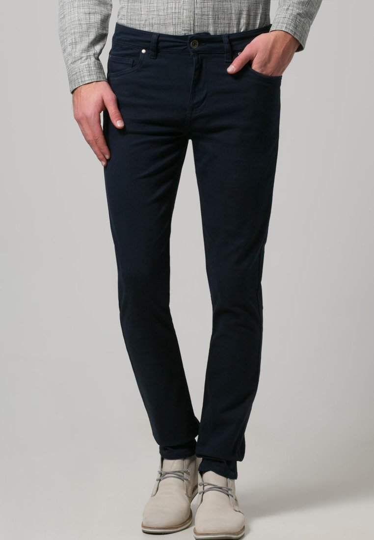 Farah - DRAKE - Trousers - navy