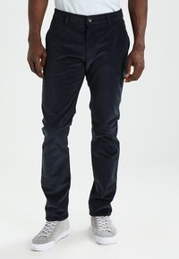Farah - Trousers - true navy - 0