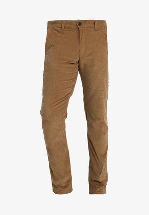 Pantalon classique - tobacco