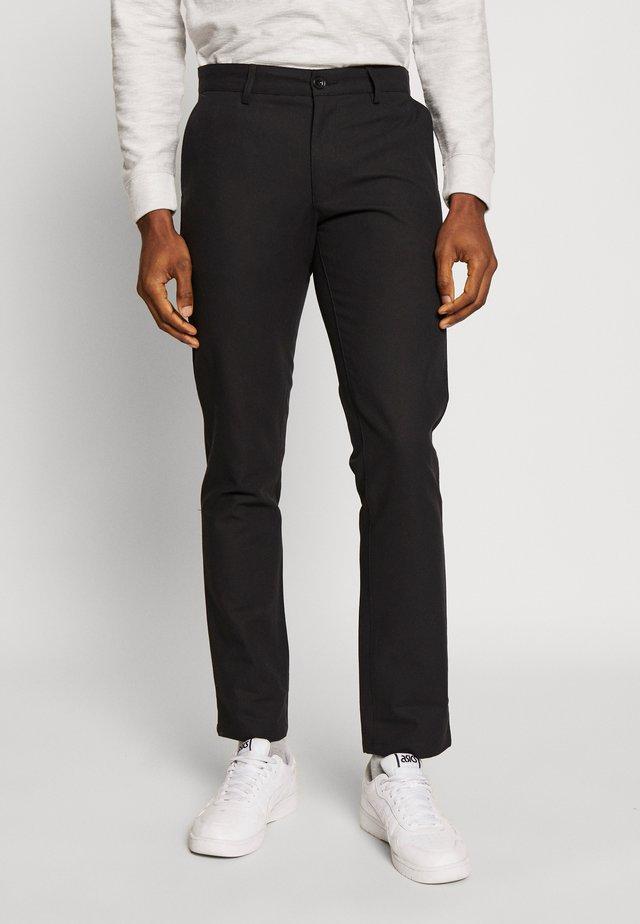 Chino kalhoty - deep black