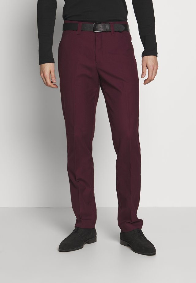 HOPSACK - Chino kalhoty - farah raspberry