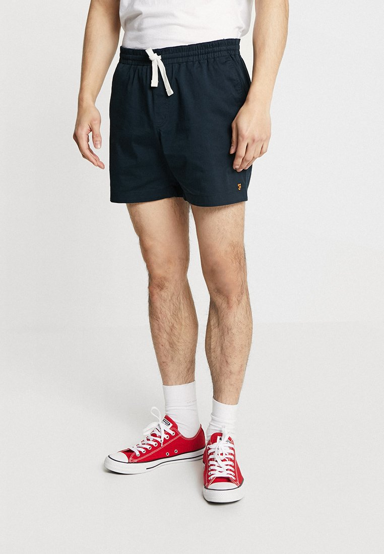 Farah - VAL STRETCH DRAWSTRING - Shorts - true navy