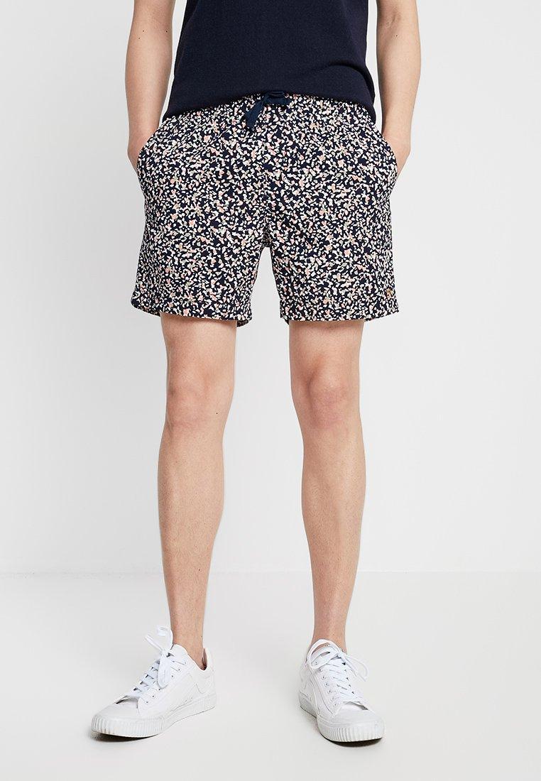 Farah - TERRAZZO PRINTDRAWSTRING - Shorts - true navy