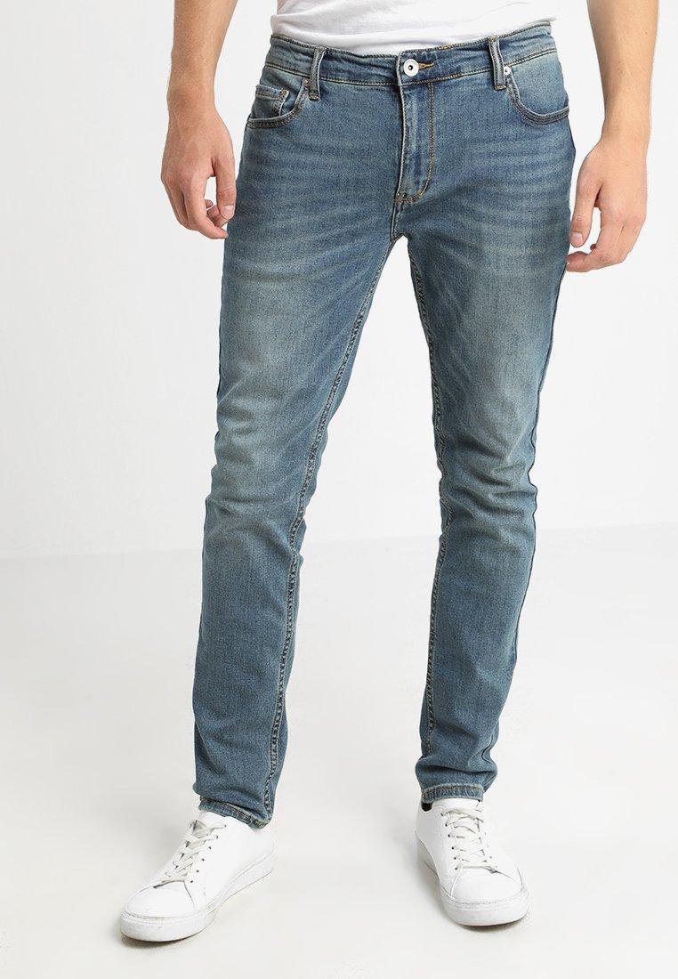Farah - DRAKE STRETCH - Slim fit jeans - worn indigo