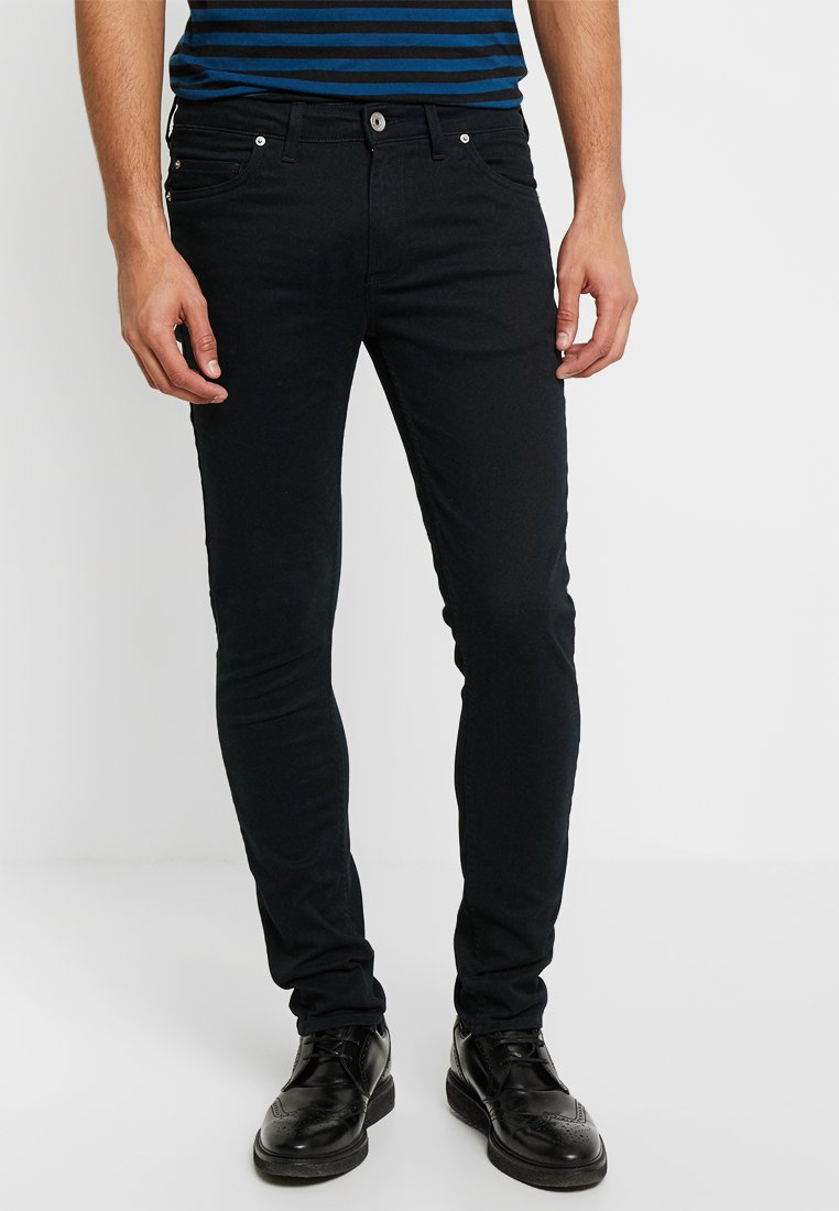 Farah - DRAKE - Jeans slim fit - black